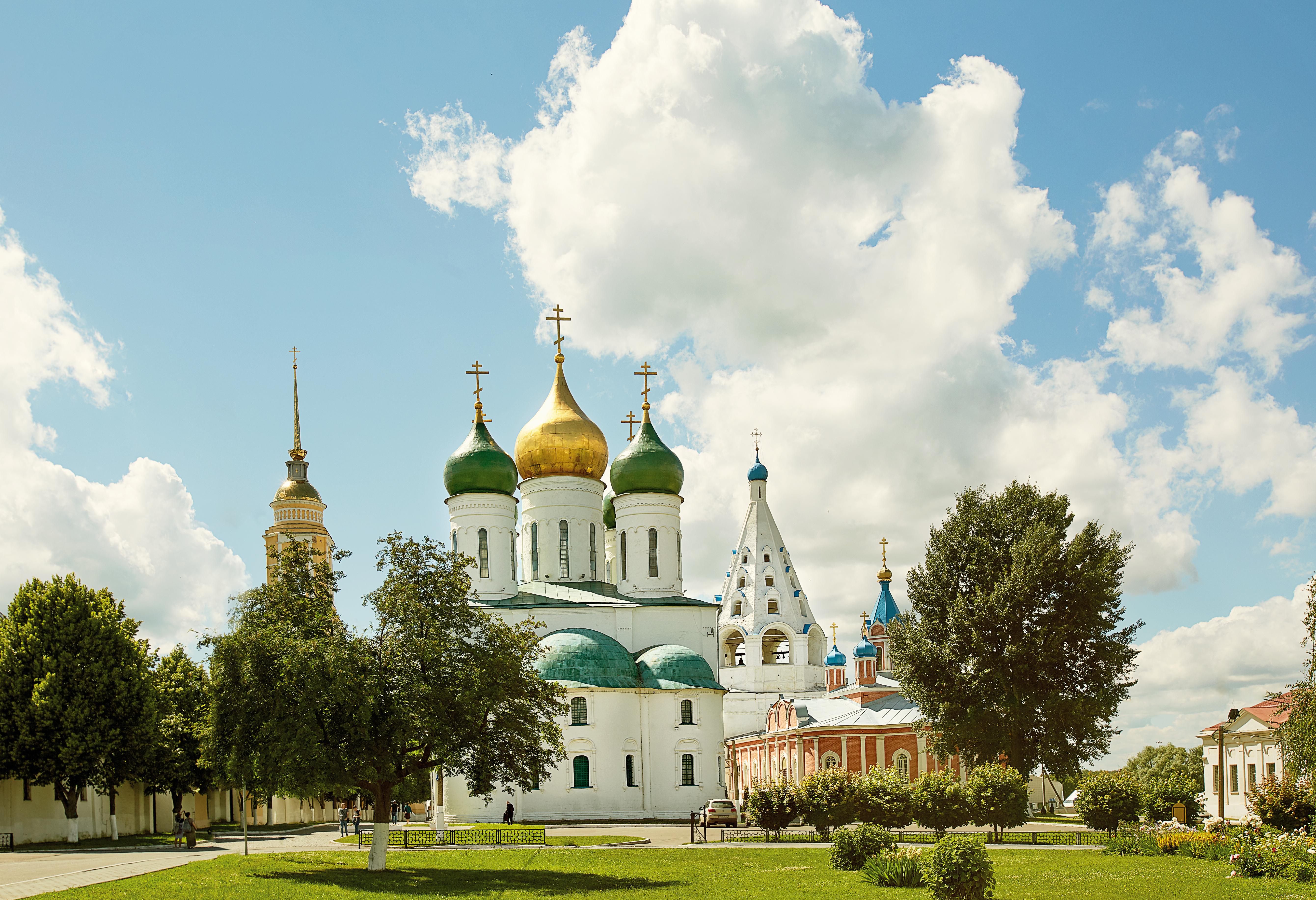 Успенский кафедральный собор города Коломны